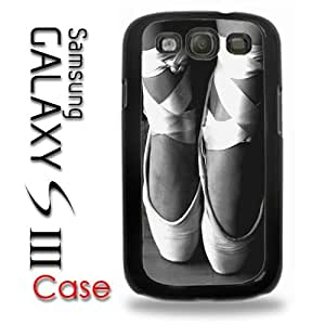 Samsung Galaxy S3 Plastic Case - Ballet Slippers Toe Pointe Ballerina Dancing
