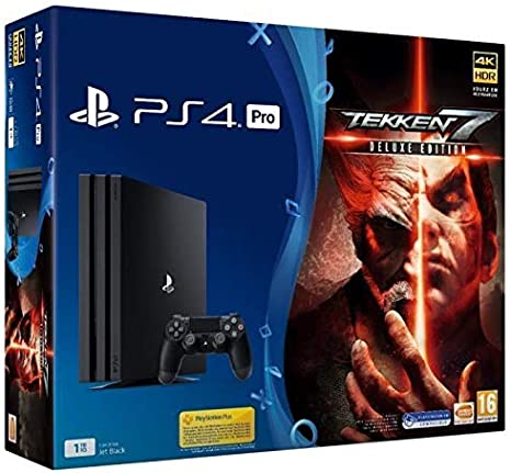 Pack PS4 Pro 1 To + Tekken 7 [Importación francesa]: Amazon.es ...