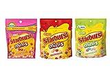 Starburst Mini's Pouch (8oz) Bundle-1 of each: original, fave reds, sours