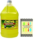 Best Maid Dill Juice - 1 Gallon and Never A Dill Moment - Pickle Juice Recipes Cookbook Bundle