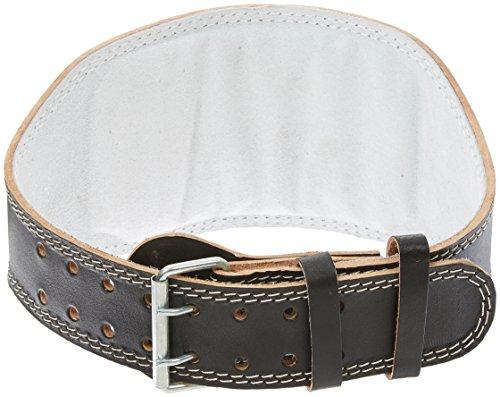 Progryp 6-Inch  Leather Padded Belt, Black, XX-Large