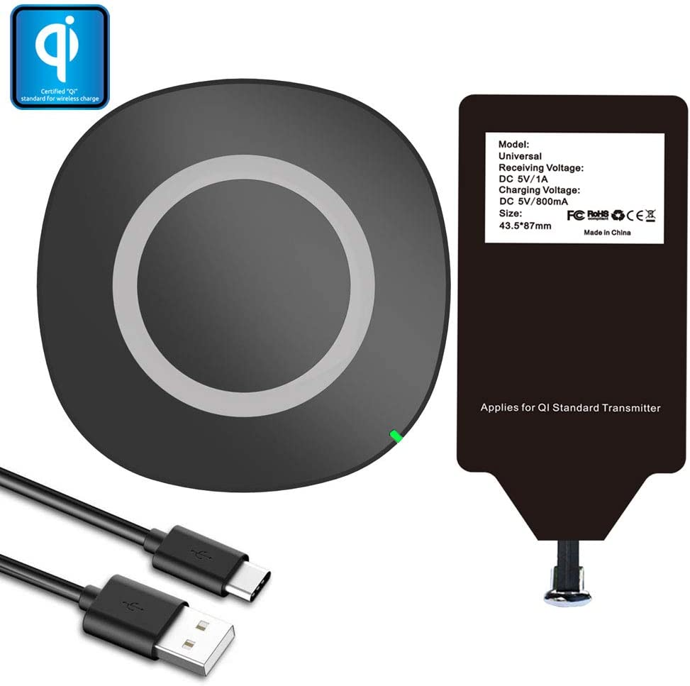 : Wireless Charger Pad Cradle Station & Qi