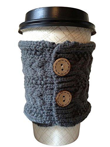 Hug Your Mug Cup Cozy, Reusable Coffee Sleeve Hand Protector Drink Grip for Paper Cups by Hug Your Mug (Image #4)