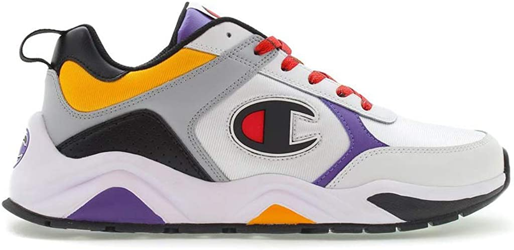 Champion Youth GS 93 Eighteen Block Sneaker In White Multi-WHITE MULTI/_6