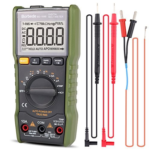 Review Digital Multimeter, Auto Ranging