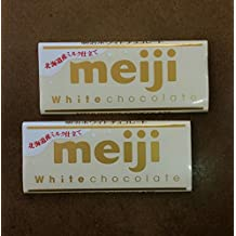 MEIJI Japanese White (Hokkaido Milk) Chocolate (2 Packs)