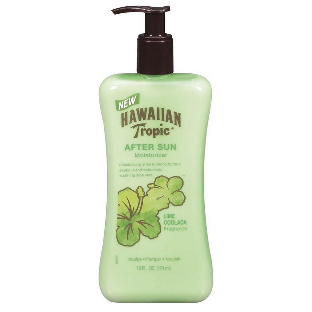 Hawaiian Tropic Lime Coolada After Sun Moisturizer 16 oz by Hawaiian Tropic