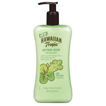 Lime Coolada After Sun Moisturizer Green by Hawaiian Tropic #8