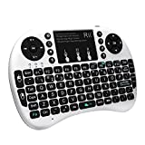 Rii i8+ Mini Wireless 2.4G Backlight Touchpad Keyboard with Mouse for PC/Mac/Android (MWK08+)