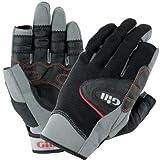 Gill Championship Long Finger Sailing Gloves Black 7251 Sizes- - Large