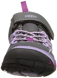 KEEN Kids\' Chandler Cnx-C Sneaker, Pastel Lilac/Purple Wine, 13 M US Little Kid