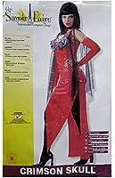 Rubie's Womens 'Crimson Skull' Halloween Costume
