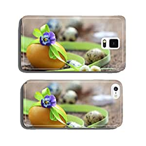 Easter - egg with bow and flower cell phone cover case iPhone5