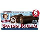 Little Debbie Swiss Rolls, 12 Cake Rolls (Twin Wrapped) - 6 Pack