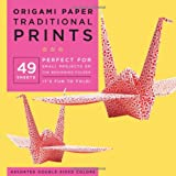 Origami Paper Traditional Prints: 49 Sheets