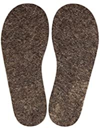 Men and kids Shoe Felt Insoles - Pure 100% Wool - Extra Comfortable Cozy Warm for Cold or Wet Weather - Great for Walk, Working boots, Rain Boots, Sport, Outdoor Activities-6 mm(1/4'')Thick