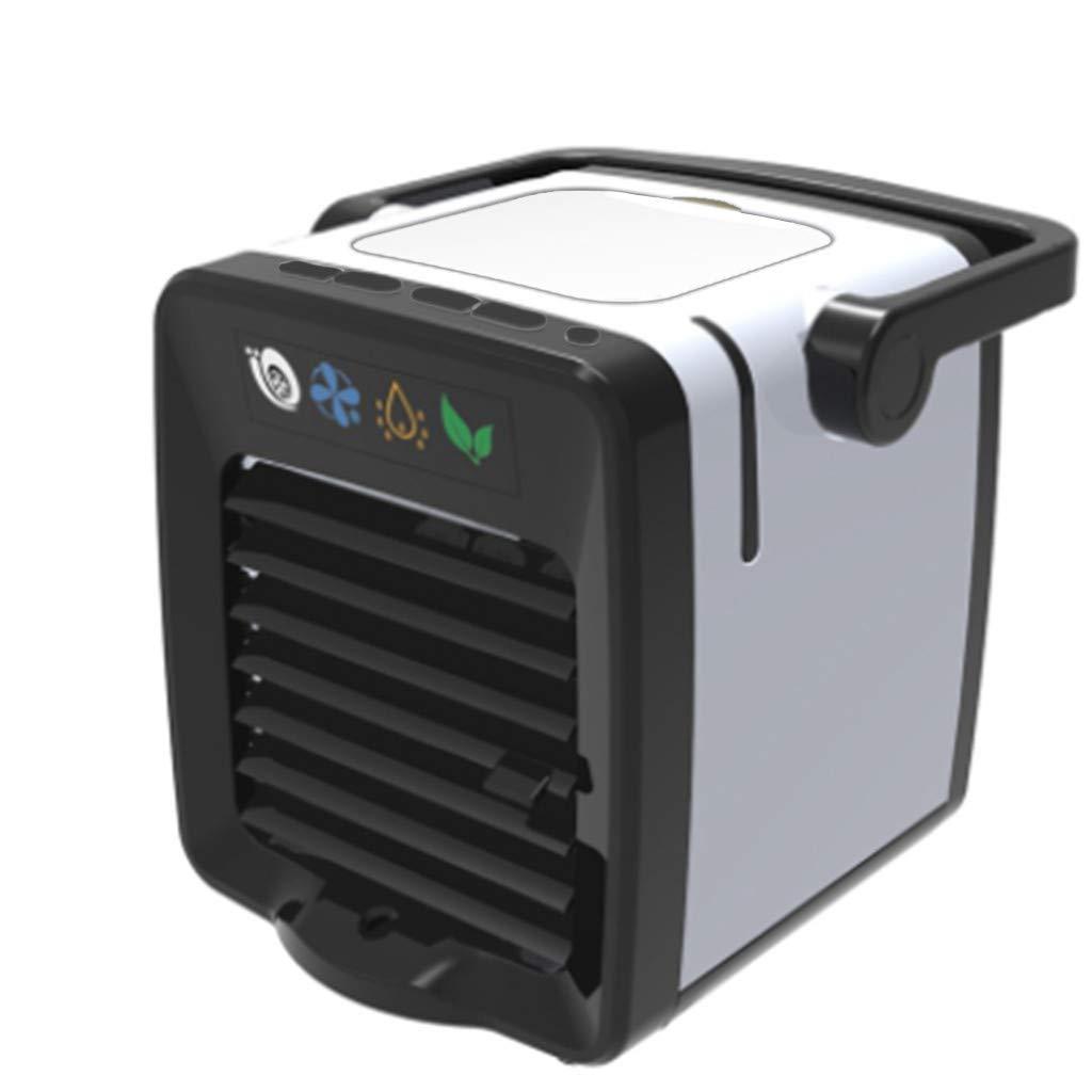 ❤SU&YU❤USB Charging Mini Portable Air Conditioning Fan Home Refrigerator Cooler Green
