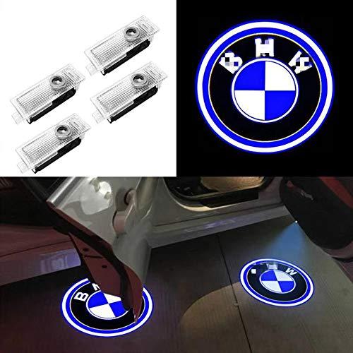 Car Door Lights,Youjoy 4Pack Projector Welcome Logo Light for BMW fit(E90 E60 X5 E70 E87 F20 E92 E91 E61 F11 F18 E63 E64 F12 E65 X3 X6 GT 3 5 6 7 X GT)