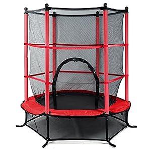 chinkyboo 4 5ft blue pink green trampoline junior kids. Black Bedroom Furniture Sets. Home Design Ideas