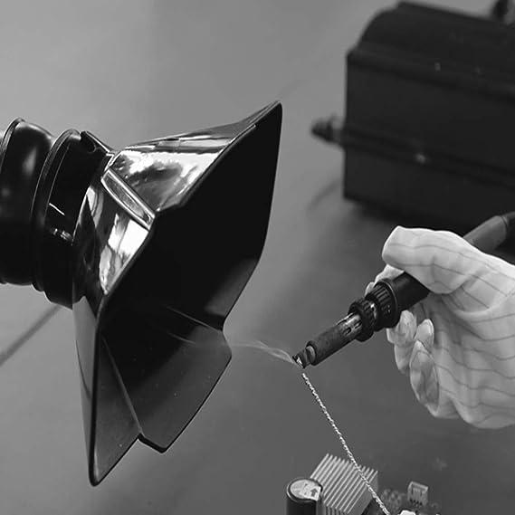Absorbente de humo de soldadura,filtro extractor de extractor de humos la industria para el sistema único de estación de soldadura,máquina de eliminación cigarrillos de polvo purificador de aire,110V: Amazon.es: Hogar