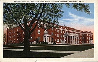 Burnam Hall, Eastern Kentucky State Teachers College Richmond Original Vintage Postcard