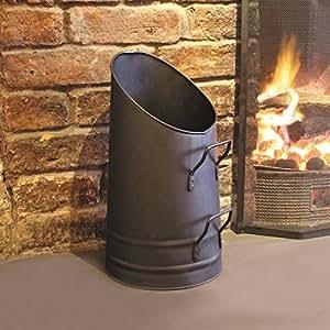 A La Maison FIRE5 - Azada de carbón, Transparente, 23 x 41,5 x 25 cm