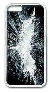 IMARTCASE iPhone 6 Case, City Destruction iPhone 6 Plus Case TPU White