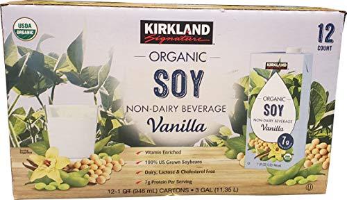 (Signature Organic Soymilk, Vanilla, 24-Pound)