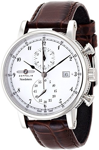 ZEPPELIN watch Nordstern White 75781 Men's