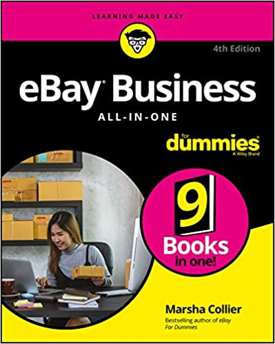 ebay business all in one for dummies for dummies business personal finance