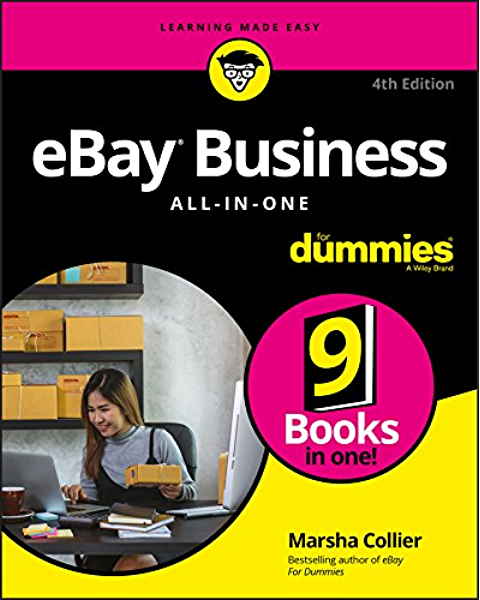 Amazon Com Ebay Business All In One For Dummies For Dummies Business Personal Finance Ebook Collier Marsha Kindle Store