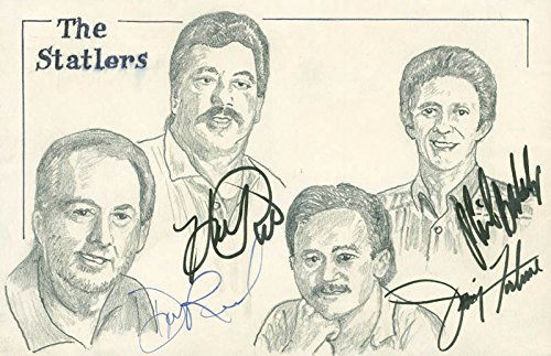 The Statler Brothers – Original Art Signed with co-signers