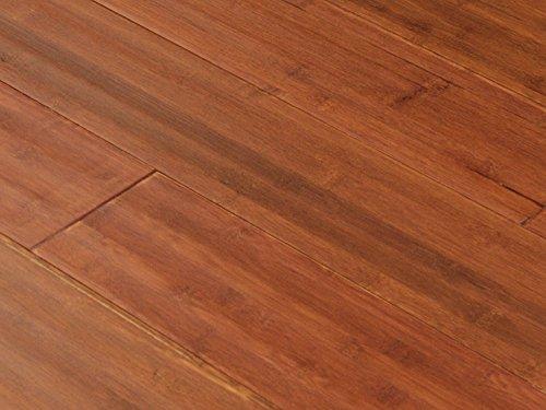 AMERIQUE FUDBSR-CTN Distressed Hand-Scraped Bamboo Flooring, 25.80 sq. ft., Satin Red (One Carton)