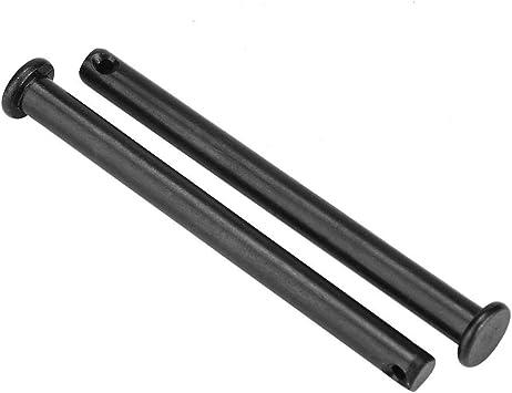 Agujero de localizaci/ón plano negro M6 Agujero de acero al carbono Localizaci/ón de reemplazo de orificio fijo de perno fijo M6*60(5pcs)