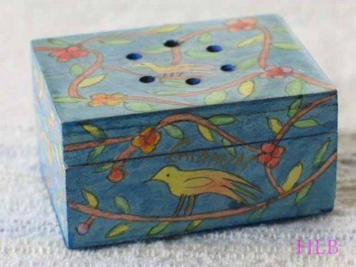 (Hand Painted Havdalah Spice Box 'Oriental' by Yair Emanuel of Jerusalem)