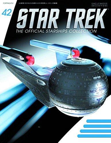 STAR TREK STARSHIPS FIGURINE COLLECTION MAGAZINE #42 USS PASTEUR EAGLEMOSS PUBLICATIONS LTD