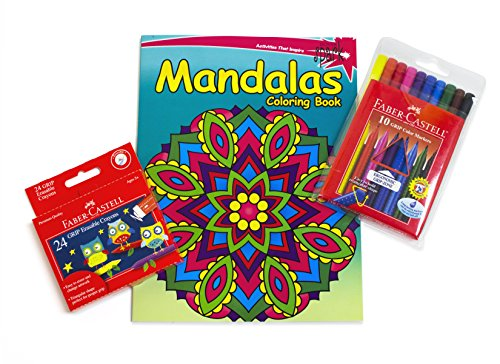 Faber-Castell Spark Mandala Coloring Book