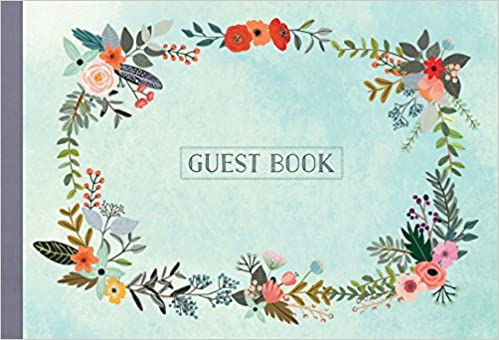 Guest Book Illustrated Nature Edition Mia Charro 9781631061936