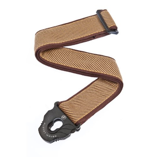 (Planet Waves Planet Lock Guitar Strap, Tweed)