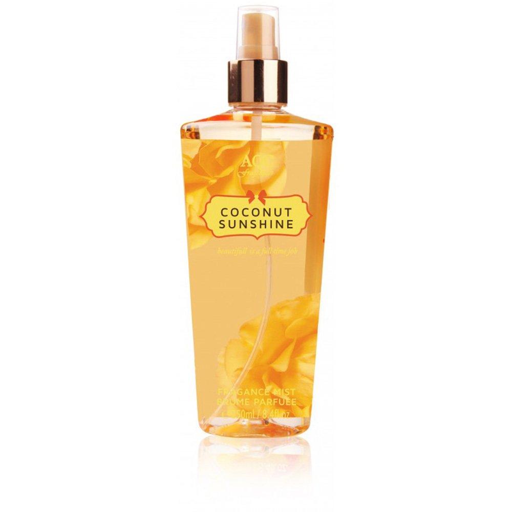 Brume Parfumée Corps & Cheveux 250 ml Coconut Sunshine - Parfum Vanille / Noix de coco - AQC AQC fragrances
