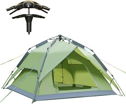 climecare 2 – 4 personas , automática hidráulico Familias camping tienda Pop Up Outdoor Trekking tienda campaña Mini Pack, verde: Amazon.es: Deportes y aire libre