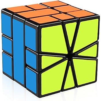 Honesty Cuberspeed Qiyi Mirror 3x3x3 Blue/golden/silver Sticker Magic Cube Toys & Hobbies Puzzles & Games