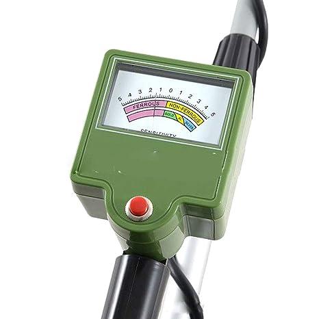 WSBBQ Detector de Metales Ajustable, cavador de Oro con Bobina de búsqueda Impermeable, Detector de Metales subterráneo Profesional: Amazon.es: Deportes y ...