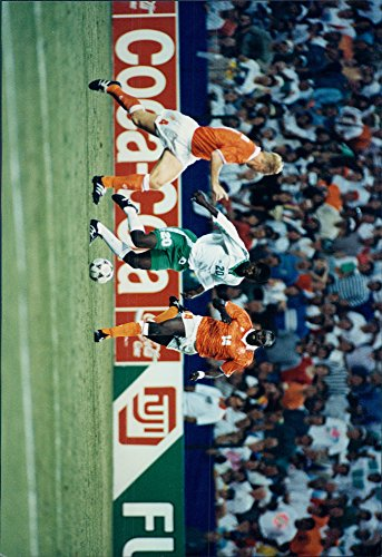 Vintage photo of XV World Cup-Dutch Defeat Saudi Arabia