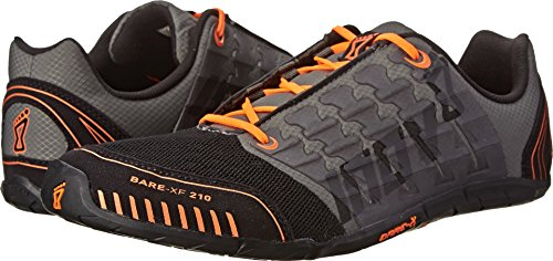 Inov-8 Men's Bare-XF™ 210 Cross-Training Shoe,Thyme/Black/Orange, 8.5 M US