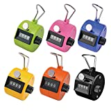Ktrio-Pack-of-6-Color-Hand-Tally-Counter-4-Digit-Tally-Counter-Mechanical-Palm-Click-Counter-Count-Clicker-Ass
