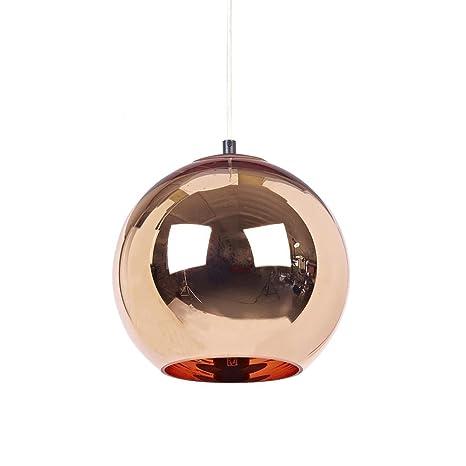 Tom Dixon - Copper Pendant - - lámpara de Techo - Lámpara de ...