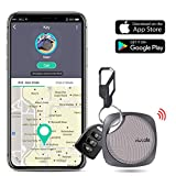 DinoFire Key Finder Smart Tracker, Item Finder with Bluetooth Support iOS & Android – Black