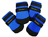 Ultra Paws Cool Boots - X Large - Blue - 4 Boots - 4'' Paw Width