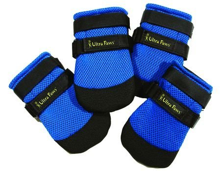 Ultra Paws Cool Boots - X Large - Blue - 4 Boots - 4'' Paw Width by Ultra Paws